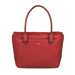 Plume Elegance Tote Bag S Ruby FRONT