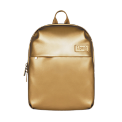 Stylish Lipault Gold Backpack