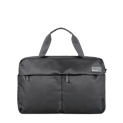 Sleek Lipault Black Briefcase