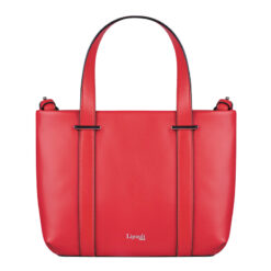 By the Seine Nano Tote Bag Raspberry Red FRONT