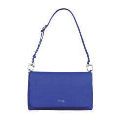 Plume Elegance Clutch Bag M Exotic Blue FRONT