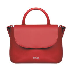 Plume Elegance Mini Handle Bag Ruby FRONT