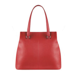 Plume Elegance Tote Bag L Ruby BACK